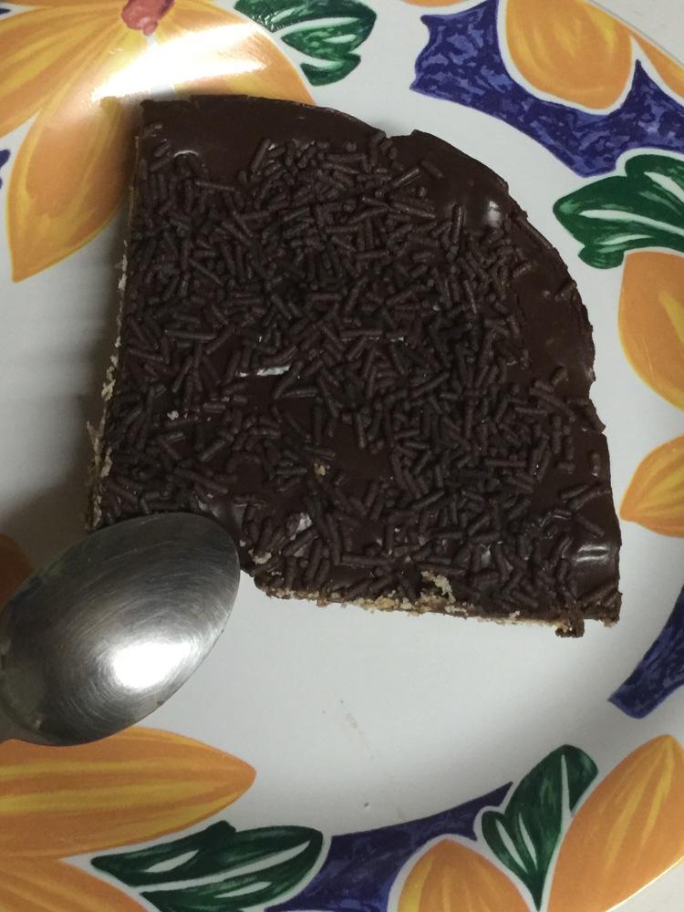Tarta de galletas y chocolate (1/2)