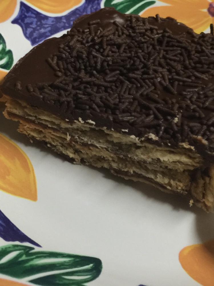 Tarta de galletas y chocolate (2/2)